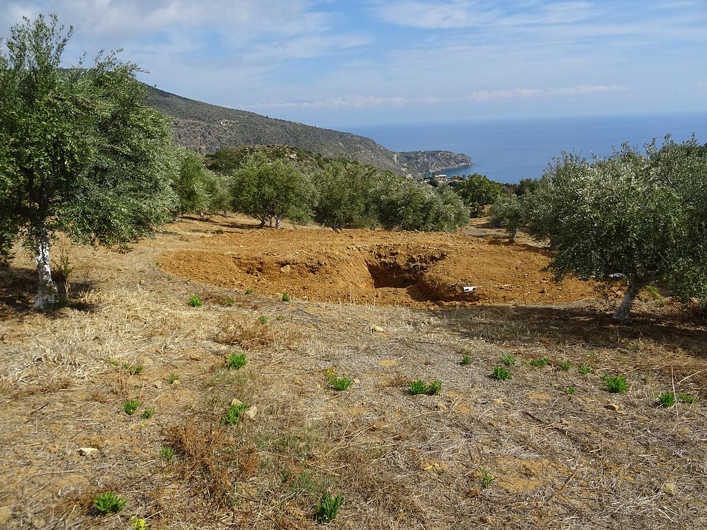 Landwirtschaftliche Dürre auf Kap Akritas